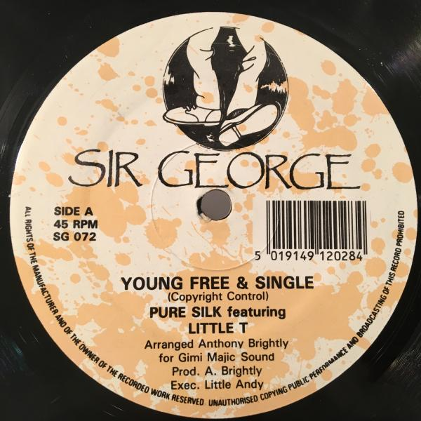 ★Pure Silk Featuring Little T/Young Free & Single★名曲LOVERSカバー!_画像1