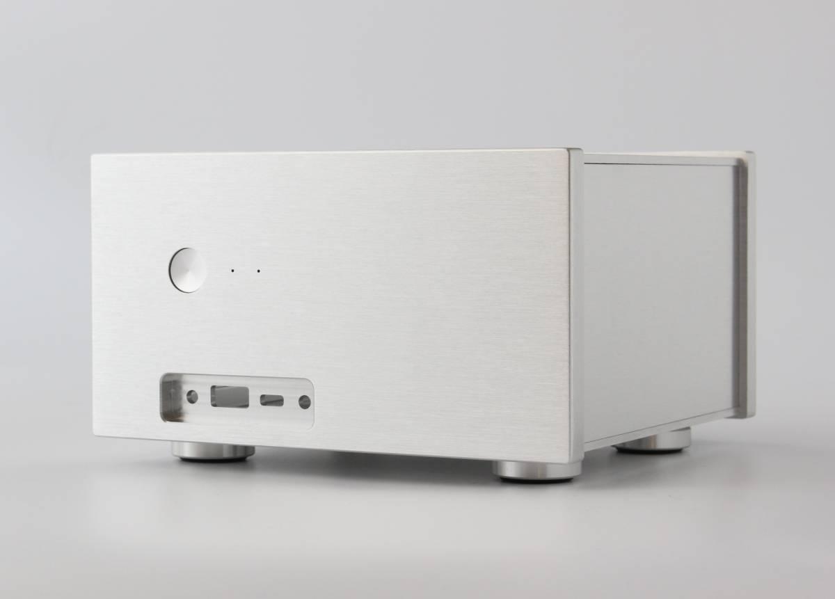 B3stx PCオーディオ アルミ削り出し Mini-STXケース H110M-STX H110S1 DeskMini 110/B/BB [ブラック] H110S-2P用 Mini-itxより小型_画像1