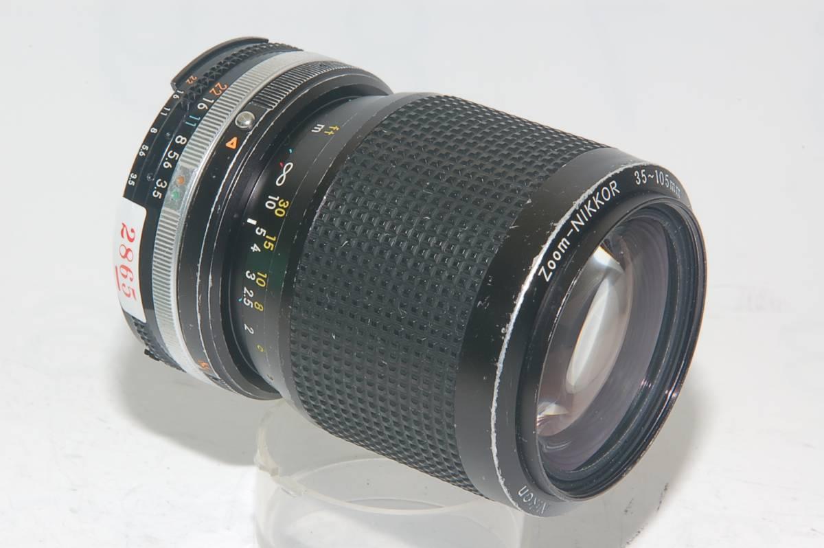 [MC]2865 ジャンク品 ニコンAI-S 35-105mm