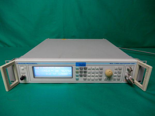 ■MARCONI 2024 9kHz-2.4GHz SIGNAL GENERATOR 信号発生器■