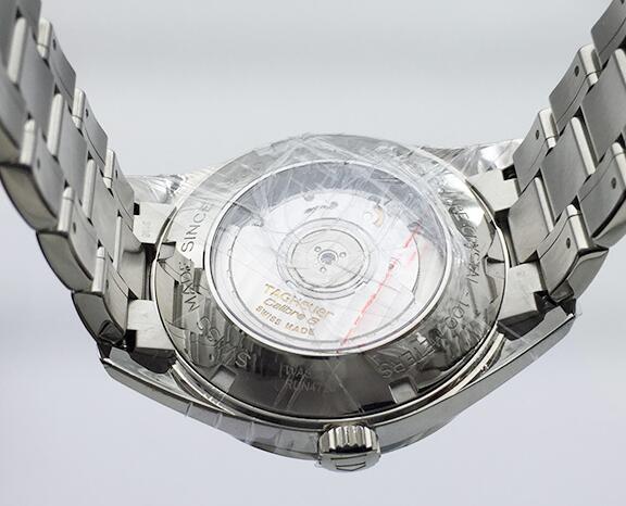 新品 タグ・ホイヤー TAG HEUER カレラ ヘリテージ WAS2110.BA0732 ネイビー文字盤 メンズ 腕時計_画像3