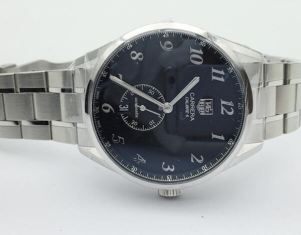 新品 タグ・ホイヤー TAG HEUER カレラ ヘリテージ WAS2110.BA0732 ネイビー文字盤 メンズ 腕時計