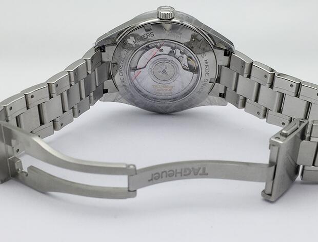 新品 タグ・ホイヤー TAG HEUER カレラ ヘリテージ WAS2110.BA0732 ネイビー文字盤 メンズ 腕時計_画像2