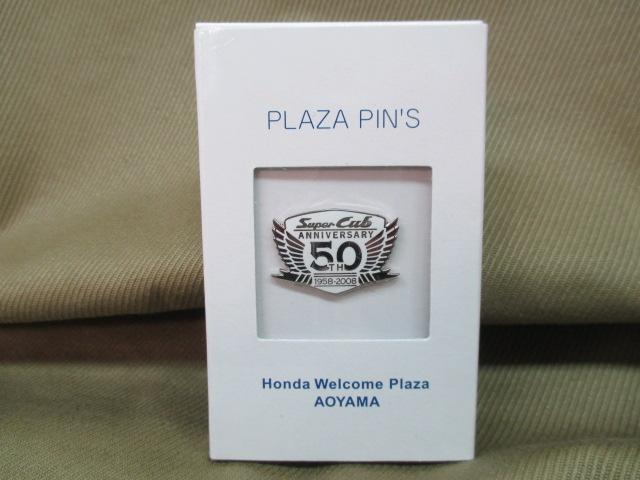 ホンダ ピンズコレクション スーパーカブ 50周年記念ロゴ ホワイト_画像2