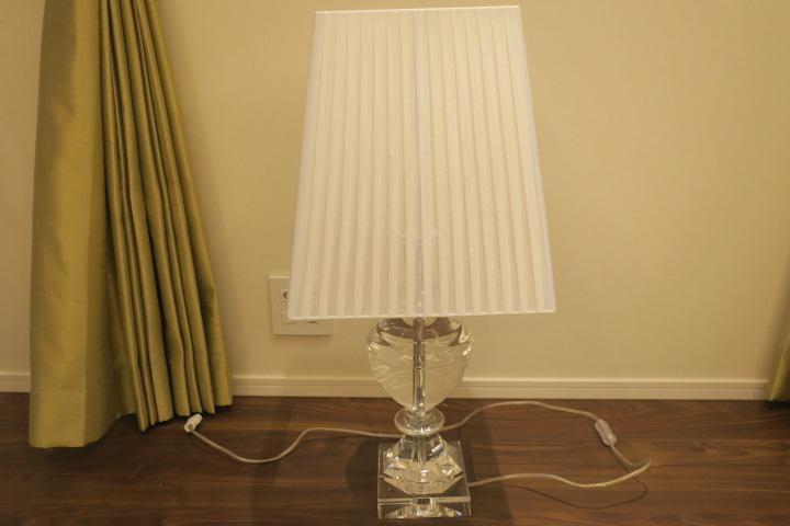 A0222TOYO KITCHEN STYLE | トーヨーキッチンスタイル クリスタルテーブルランプ 展示品