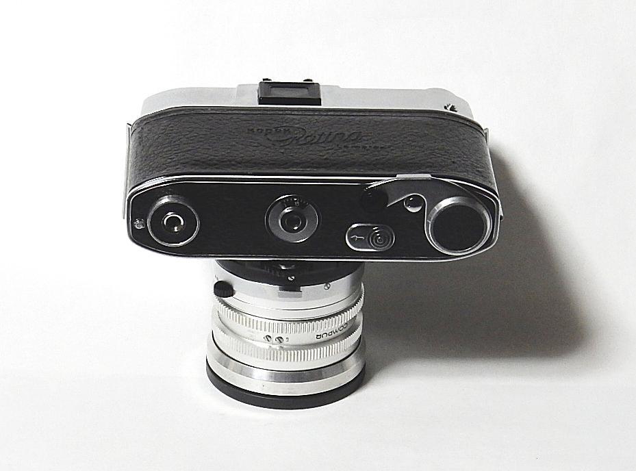 コダック レチナレフレックスⅣ KODAK RETINA REFLEX Ⅳ クセノン50mm 1.9、テレクセナ135mm F4 皮ケース付 きれいな動作品  おまけ付き_画像6