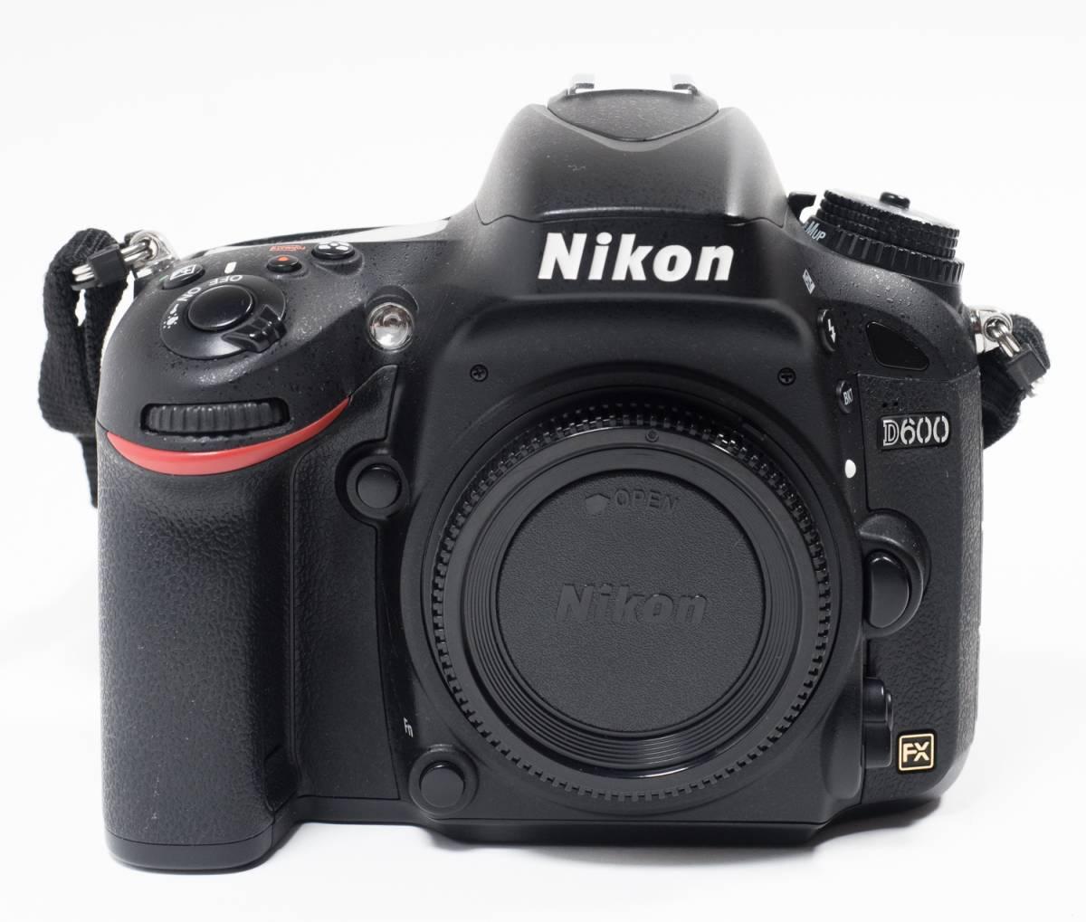 ●ニコン NIKON D600ボディ おまけ付き センサークリーニング済み 完動品(美USED) 22617_画像5