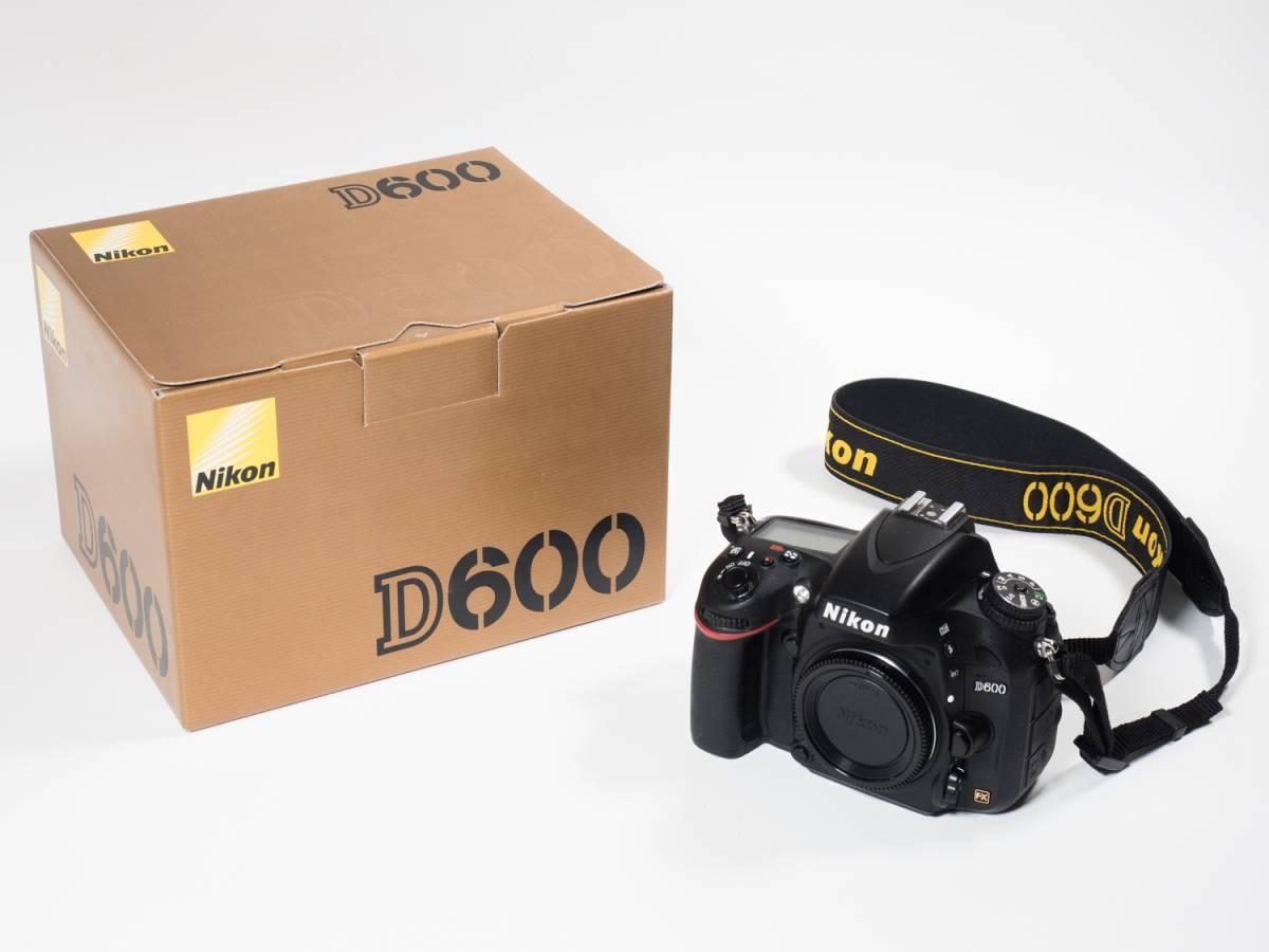 ●ニコン NIKON D600ボディ おまけ付き センサークリーニング済み 完動品(美USED) 22617