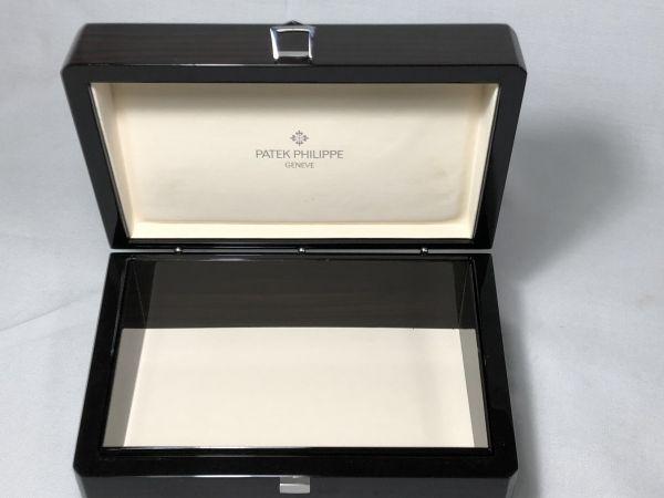 PATEK PHILIPPE パテック フィリップ 時計用 ケース 純正 箱 BOX 黒檀 唐木 化粧箱 空箱 中古 現状品 高級 時計_画像5