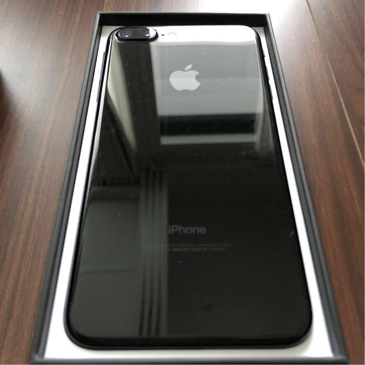 【付属品新品完備】iPhone7 Plus 128G ジェットブラック 送料無料【SIMフリー】_画像5