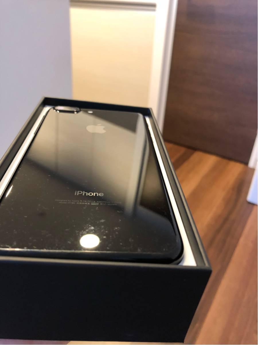 【付属品新品完備】iPhone7 Plus 128G ジェットブラック 送料無料【SIMフリー】_画像3