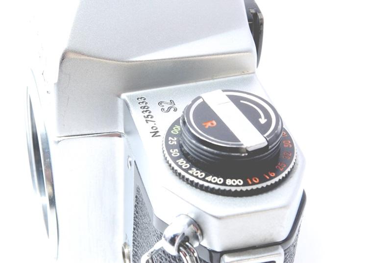 ◆ジャンク ASAHI PENTAX アサヒ ペンタックスS2  レンズ付◆_画像7