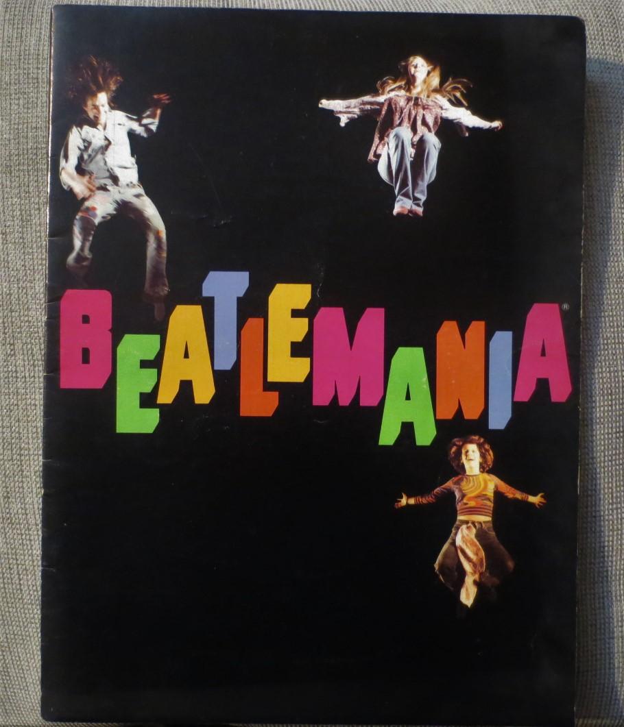 ★ミュージカル BEATLEMANIA パンフレット パンフ ビートルマニア 80年代