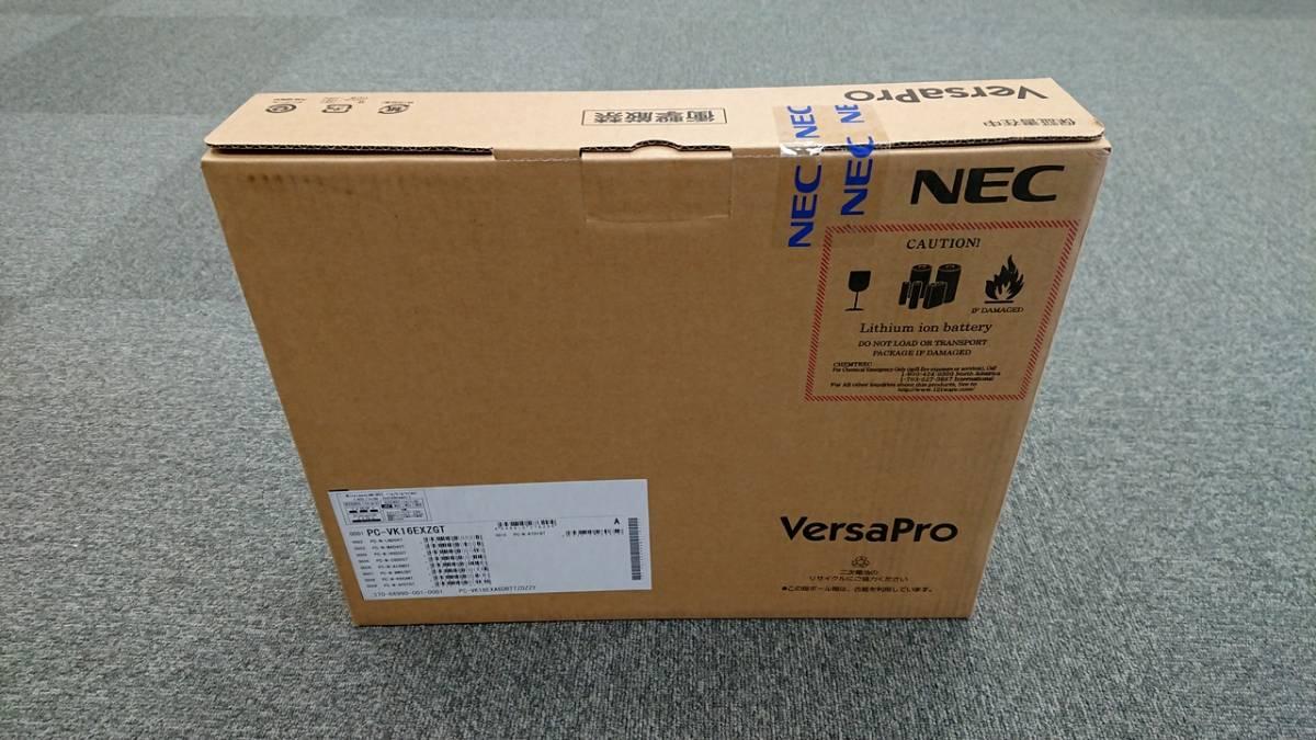 新品 未開封 NEC VersaPro タイプVX PC-VK16EXA6DBTTZDZZY Celeron-1.6GHz/RAM 4GB/HDD 500GB/15.6型液晶/Win10Pro/MSOffice Personal 2016