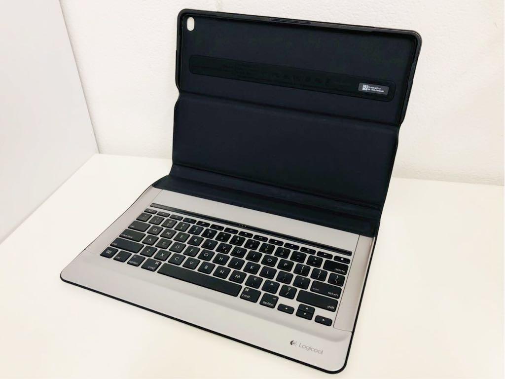 【送料無料】Logicool CREATE Backlit Keyboard Case for 12.9インチ iPad Pro ブラック ロジクール