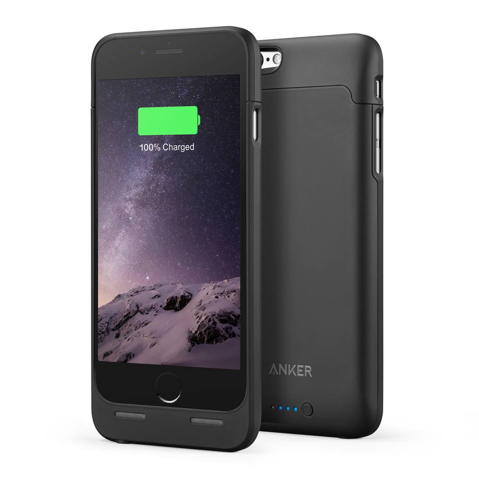3新品 送料無料【Apple認証 (Made for iPhone取得)】 Anker ウルトラスリムバッテリーケース iPhone 6 / 6s用 4.7インチ用 容量 2850mAh