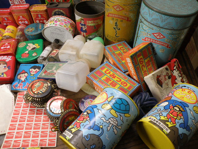 86 パッケージ 色々 まとめて 箱 缶 瓶 / 昭和レトロ 広告 看板 古い 昔_画像8