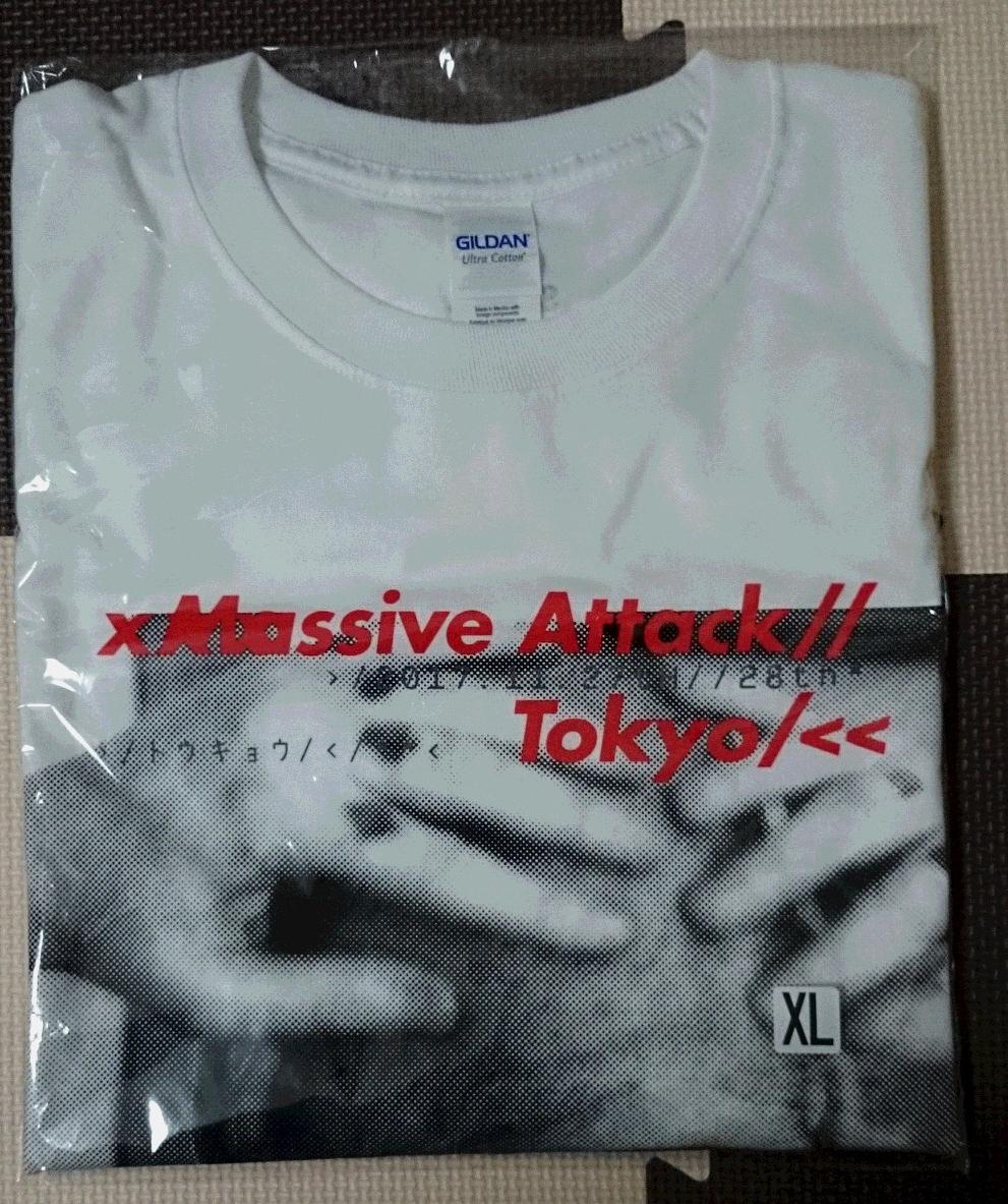 MASSIVE ATTACK × SOPH. 日本限定Tシャツ 新品未開封 XL FC REAL BRISTOL