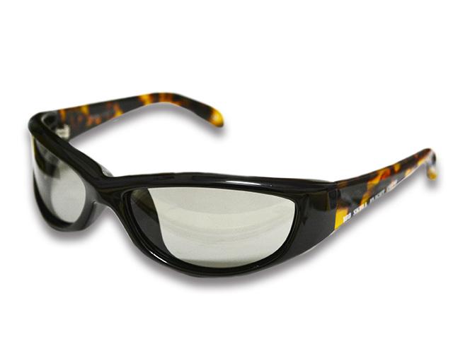 【SKULL FLIGHT/スカルフライト】180 Shade Photochromatic Polarized Lens/180シェード調光偏光レンズ(BR)ハーレー/バイク/サングラス_画像2