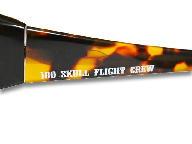 【SKULL FLIGHT/スカルフライト】180 Shade Photochromatic Polarized Lens/180シェード調光偏光レンズ(BR)ハーレー/バイク/サングラス_画像9