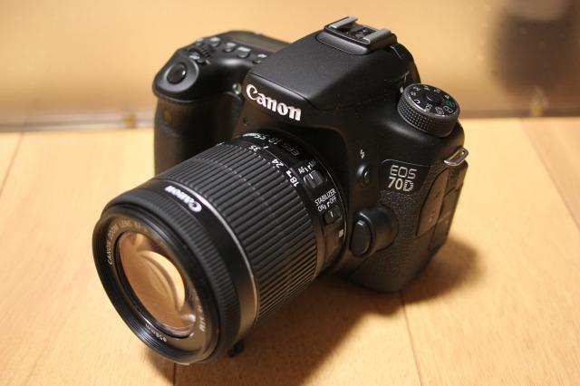 【美品1円】Canon デジタル一眼レフカメラ EOS 70D EF-S 18-55 IS STM レンズキット 2090万画素 デュアルピクセルCMOS AF 保証書付
