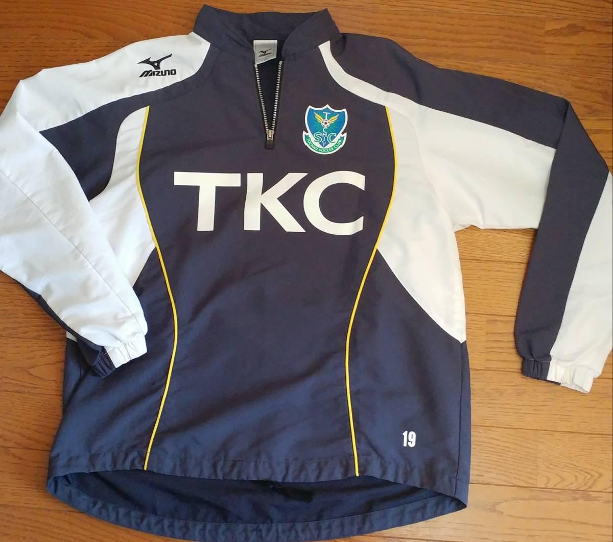 栃木SC 選手用トレーニングジャケット #19 赤井 サイズL 支給品