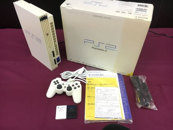 SONY  Sony PS2 ... Station  2 SCPH-50000CW ... товар  EH00159-105fg