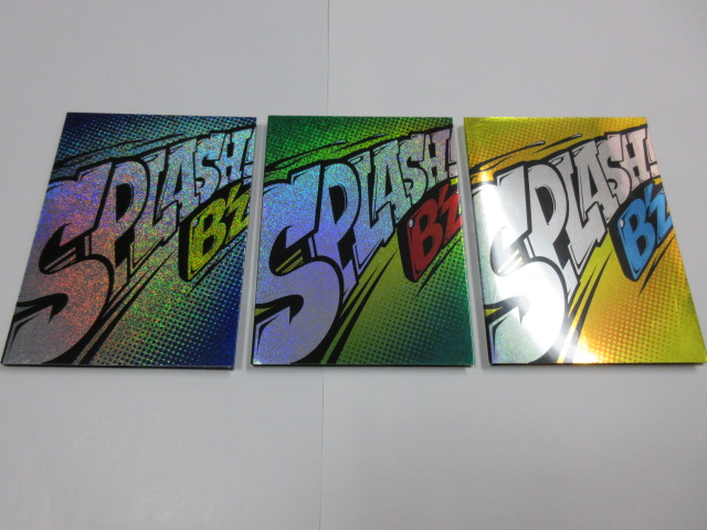 B'z SPLASH! 初回限定盤 CD+特典DVD付 パルス、愛のバクダン、Fever ライブ映像 B'z LIVE DINOSAUR 稲葉浩志 松本孝弘