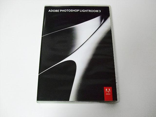 Adobe Photoshop Lightroom 3 日本語版 Win/Mac【メディア美品】