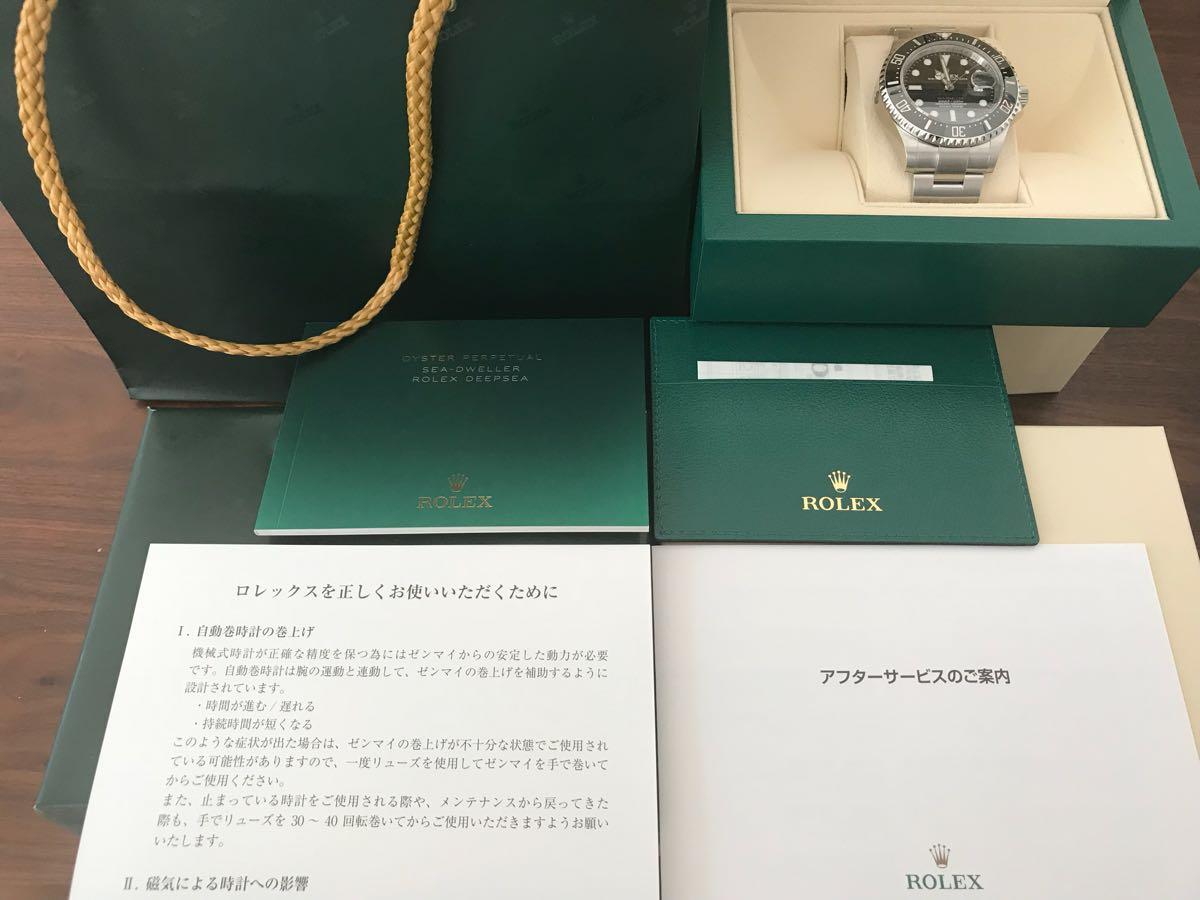 新品 赤シード/シードゥエラー126600 日本ロレックス正規店購入品_画像2