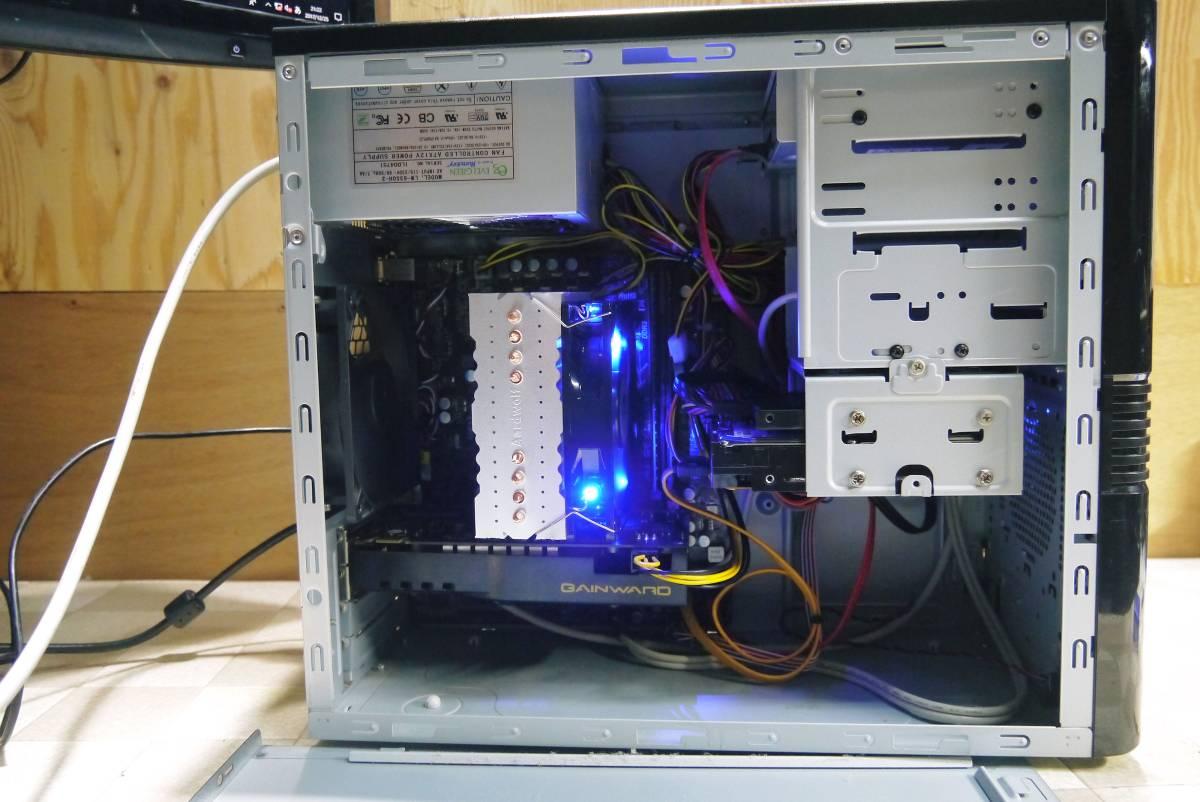 ★自作PC★ i7 2600K メモリー 8GB//新SSD120GB+HDD1TB/GTX550Ti//Windows10/★_画像3