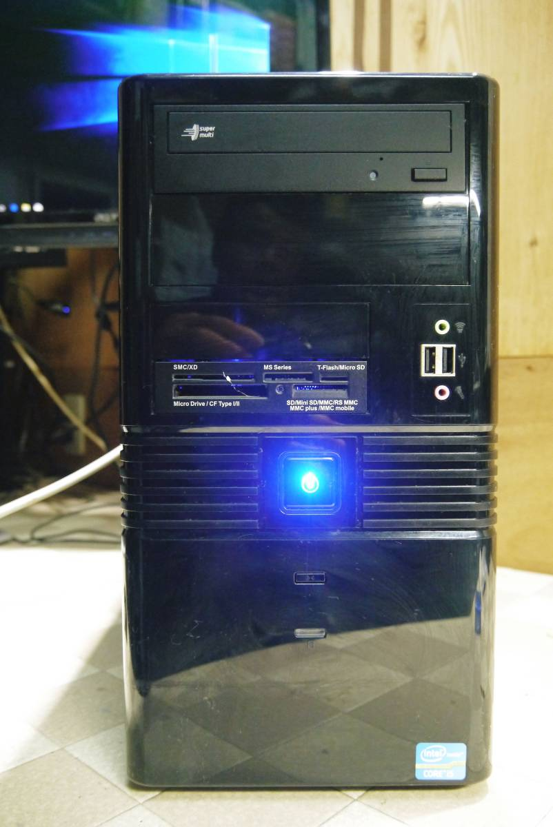 ★自作PC★ i7 2600K メモリー 8GB//新SSD120GB+HDD1TB/GTX550Ti//Windows10/★_画像2