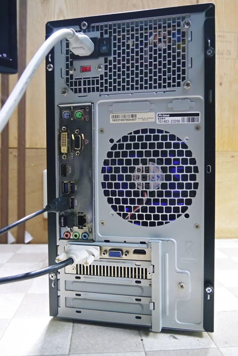 ★自作PC★ i7 2600K メモリー 8GB//新SSD120GB+HDD1TB/GTX550Ti//Windows10/★_画像5