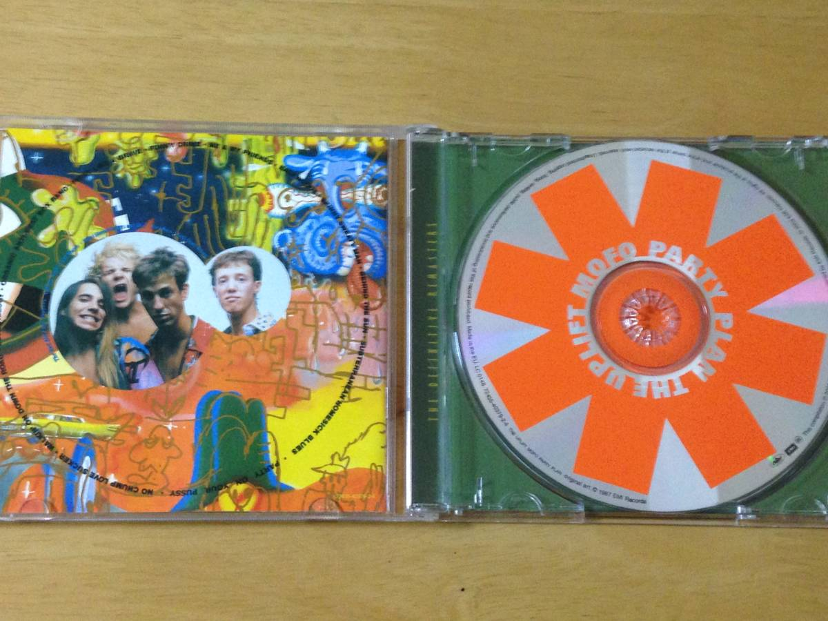 The Red Hot Chili Peppers The Uplift Mofo Party Plan 輸入盤CD 検:レッドホットチリペッパーズ レッチリ 3rd リマスター_画像3