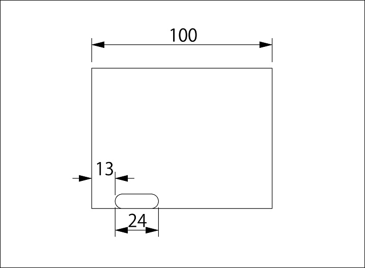 76.3Φ用 チタンテール マフラーカッター マフラー  100L チタンマフラーカッター なみガレージ 本物チタン 73Garage_画像4