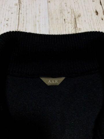 """YOHJI YAMAMOTO デザイン """" A.A.R """" レザー ブルゾン ジャケット ( M ブラック ) ヨウジヤマモト Y's ワイズ_画像6"""