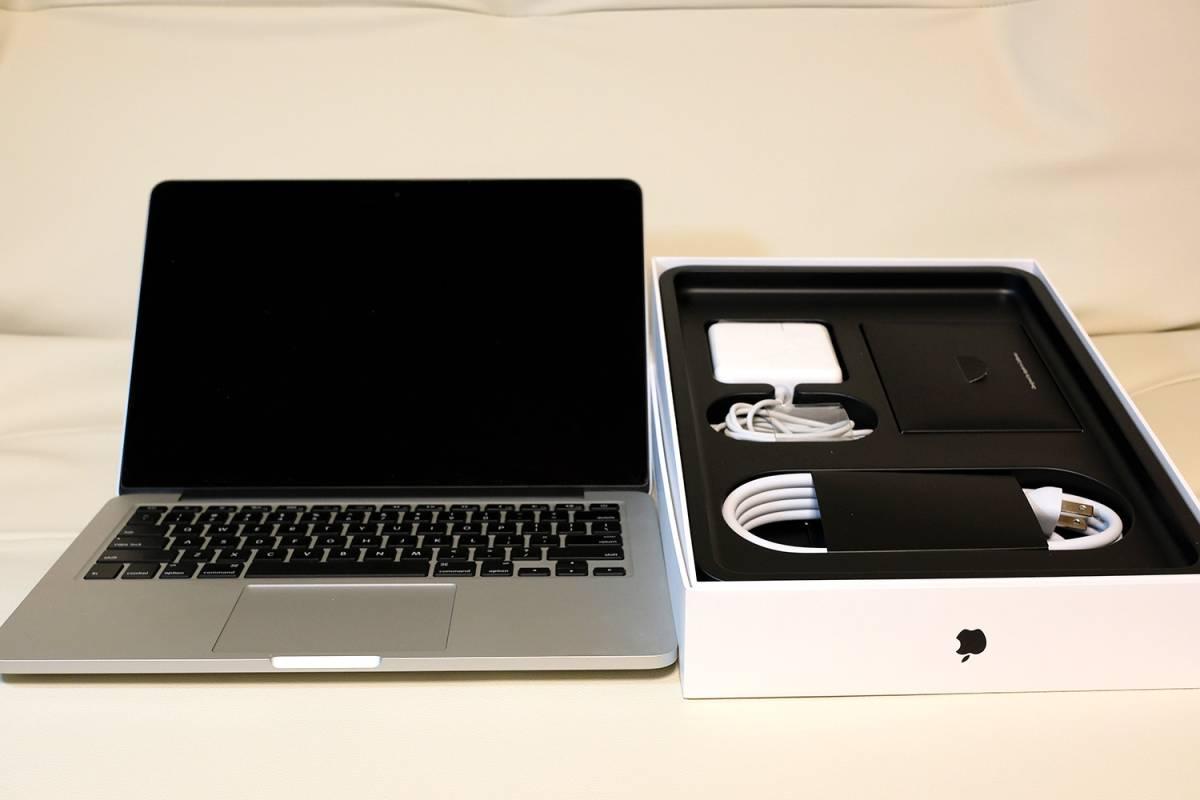 (US配列)MacBook Pro Retina 13インチ / 2.7GHz Core i5 / 16GB / 128GB