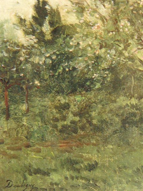 【大特価セール】シャルル=フランソワ・ドービニー【花咲く林檎の木】希少画集、新品高級額、額装付、状態良好、送料込、風景画、西洋画家_画像2