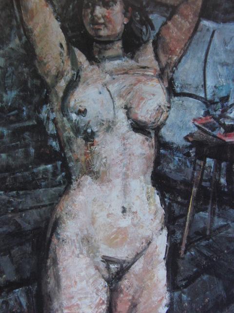 高光一也、裸婦、希少な画集より、新品高級額、額装付、状態良好、送料込み