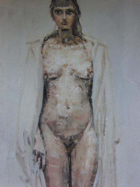高光一也、裸婦 A、希少な画集より、新品高級額、額装付、状態良好、送料込み