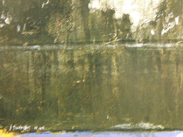 ジャン・デュビュッフェ、落書きのある壁(≪壁≫シリーズより)、希少な画集より、新品高級額、額装付、状態良好、送料込み_画像2