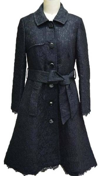 送料無料 ケイトスペードニューヨーク  Kate SpadeNewyork トレンチ コート US4/JP9号~11号 黒