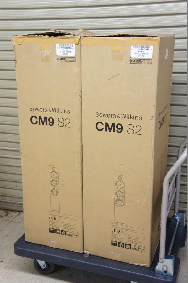 H447サ】美品 B&W CM9 S2 Bowers&Wilkins トールボーイ スピーカー ペア 元箱あり