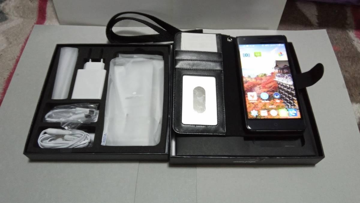 Ulefone Power 4G FDD-LTE 3G WCDMA スマートフォン Android 5.1 Lollipop オクタコア 5.5