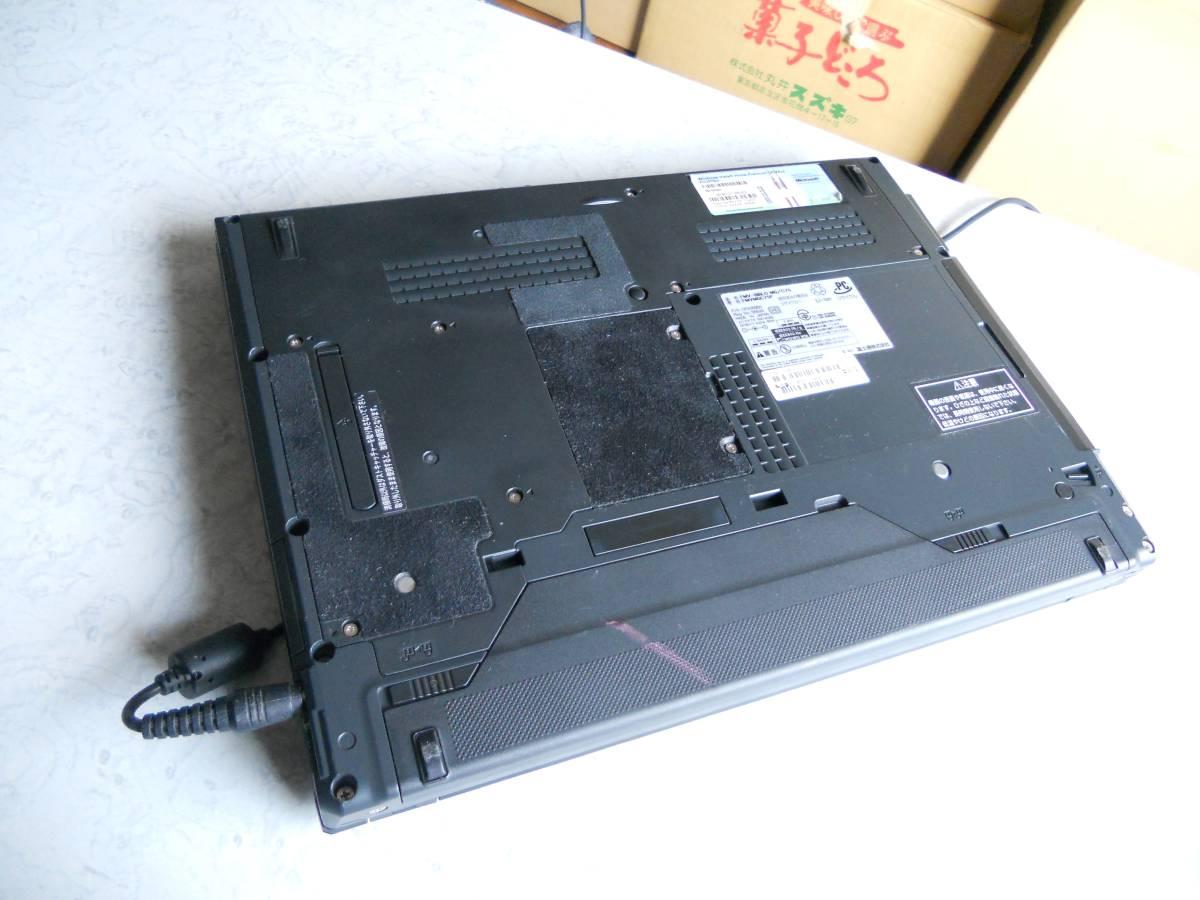 ジャンク 富士通 FMV-BIBLO MG/C75 C2DP8400 2.26GHz 2GB 80GB DVD-RAM MS Office2007付Win10pro64bit FMVMGC75Pはいらんかね。_画像6