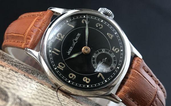 極上品【ジャガールクルト☆WW2】アンティーク ミリタリー 手巻き P463 メンズ腕時計☆1940s