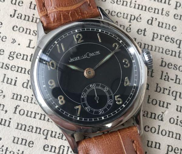 極上品【ジャガールクルト☆WW2】アンティーク ミリタリー 手巻き P463 メンズ腕時計☆1940s_画像2