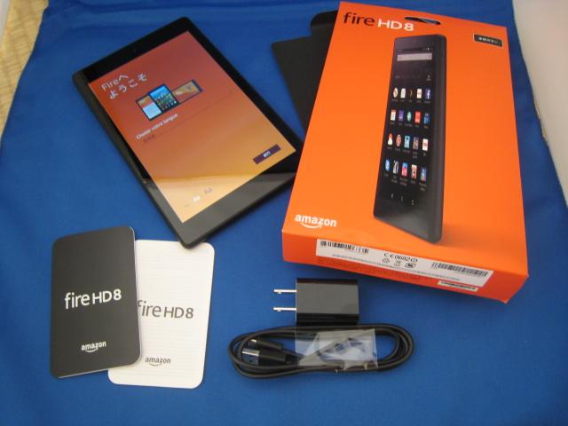 ★☆Amazon Kindle Fire HD 8 タブレット 16GB ブラック 現行モデル☆★