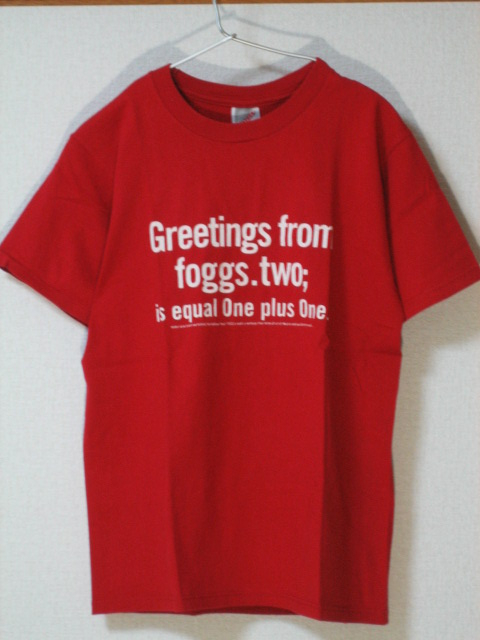 ★美品 AIR 「Greetings from foggs.two;」Tシャツ 車谷浩司 Laika Came Back/Spiral Life★