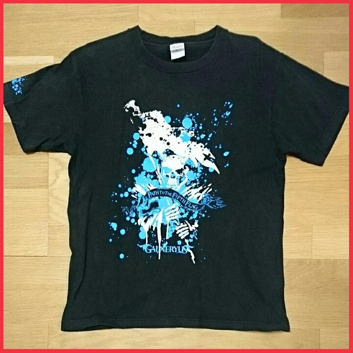 【ジャンク】 Galneryus 2008 ツアー Tシャツ Mサイズ ガルネリウス 小野正利 Syu YAMA-B